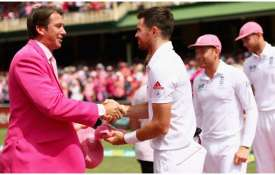 <p>Glenn McGrath and James...- India TV