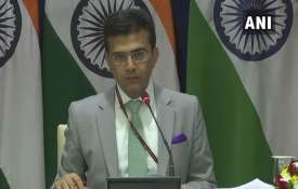 Raveesh Kumar, MEA- India TV