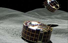 Japan successfully lands robot rovers on an asteroid's surface | Twitter- India TV