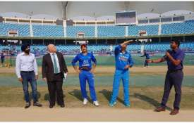 MS Dhoni is leading Team India in Super 4 last match- India TV