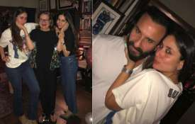 Kareena Kapoor Khan rings in 38th birthday with husband Saif Ali Khan and family. - India TV