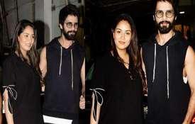 Mira Rajpoot and Shahid Kapoor- India TV