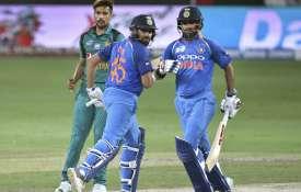 भारत बनाम पाकिस्तान: रोहित-धवन की रिकॉर्ड साझेदारी, भारत ने पाक को फिर दी करारी शिकस्त- India TV