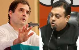 Rahul Gandhi and Sambit Patra- India TV