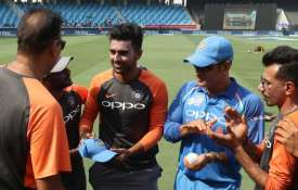 Deepak Chahar and MS Dhoni- India TV
