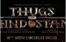Thugs of Hindostan Logo- India TV