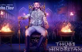 John Clive, Thugs of Hindostan- India TV