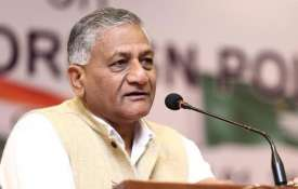Imran Khan has been propped up by Pakistan Army, don't expect a change, says VK Singh | Facebook- India TV