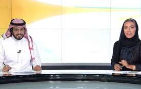 Weam Al Dakheel becomes the first ever woman to anchor a national news bulletin in Saudi Arabia- India TV