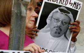 People protest at the Embassy of Saudi Arabia about the disappearance of Jamal Khashoggi - India TV Paisa