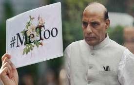 #MeToo: ऑफिस में यौन शोषण पर हरकत में मोदी सरकार, राजनाथ सिंह की अध्यक्षता में GoM गठित- India TV