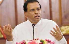 Sri Lanka President Maithripala Sirisena- India TV