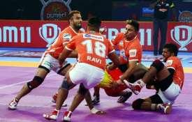 प्रो कबड्डी लीग-6: पुनेरी ने जयपुर को 29-25 से दी मात- India TV