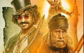 Thugs of Hindostan new poster - India TV