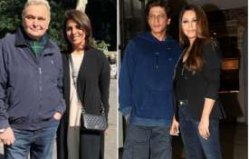 Rishi Kapoor, Neetu Kapoor, Shah Rukh Khan, Gauri Khan- India TV