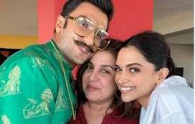 Ranveer Singh, Farah Khan, Deepika Padukone- India TV