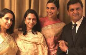 Deepika Padukone with her family- India TV