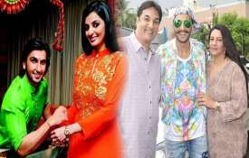 Ranveer singh family- India TV