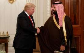 Donald Trump and Mohammed bin Salman | AP File- India TV
