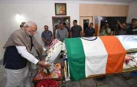 केंद्रीय मंत्री अनंत कुमार का आज होगा अंतिम संस्कार, पीएम मोदी ने दी श्रद्धांजलि- India TV