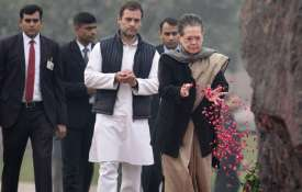 Rahul Gandhi and Sonia Gandhi pays tribute to Indira Gandhi on death anniversary, visits Shakti Stha- India TV