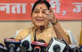 External Affairs Minister Sushma Swaraj- India TV