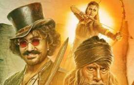 Thugs Of Hindostan's poster- India TV