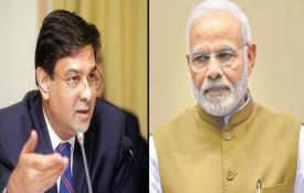 urjit patel and pm modi- India TV