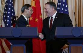 Yang Jiechi and Mike Pompeo | AP Photo- India TV