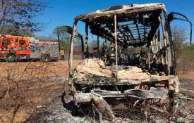 40 feared dead as bus bursts into flames in Zimbabwe- India TV