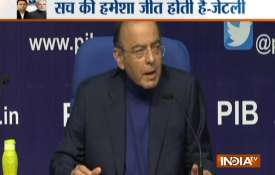 Finance Minister Arun Jaitley Statement on Rafale Deal- India TV