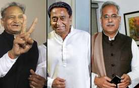 Ashok Gehlot Kamal Nath and Bhupesh Baghel- India TV