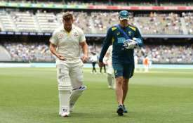 Aaron Finch leaves the field- India TV