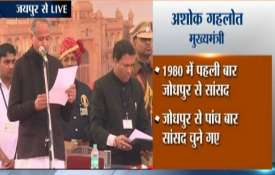 Congress CMs' swearing-in ceremony LIVE updates: Ashok Gehlot takes oath as 12th Chief Minister of R- India TV