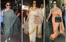 Kangana ranaut Airport Look- India TV