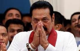 श्रीलंका के विवादास्पद प्रधानमंत्री महिंदा राजपक्षे आज देंगे इस्तीफा- India TV