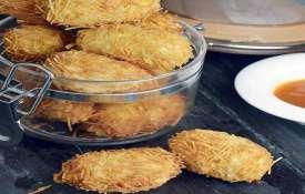 crunchy paneer rolls recipe- India TV