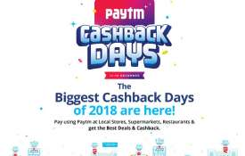 paytm cashback- India TV