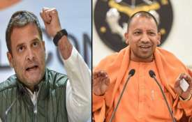 rahul gandhi and yogi adityanath- India TV