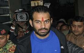 तेज प्रताप ने लालू से मुलाकात की, कहा पिता ने राजद को आगे ले जाने को कहा - India TV