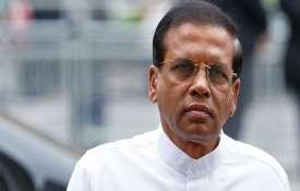 Sri Lankan President Maithripala Sirisena- India TV