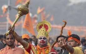 <p>A supporter of Vishwa Hindu...- India TV