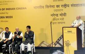 PM Narendra Modi inaugurates first cinema museum of India- India TV