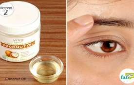 coconut is best remedy for eyebrow- India TV