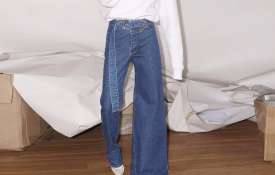 asymmetrical jeans - India TV