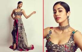 Janhvi Kapoor AT SOL Lions Gold Awards- India TV