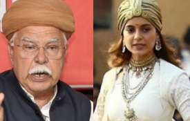 Karni Sena chief Lokendra Singh Kalvi on Manikarnika - India TV
