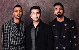 Hardik Pandya, Karan Johar and KL Rahul- India TV