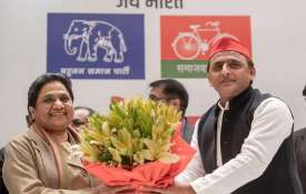 BSP Chief Mayawati and SP Chief Akhilesh Yadav | Facebook- India TV