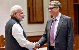 Bill Gates congratulates government on Ayushman Bharat Scheme, PM Modi thanks him | PTI File- India TV